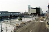 地中線工事(JR小松駅前再開発工事)例